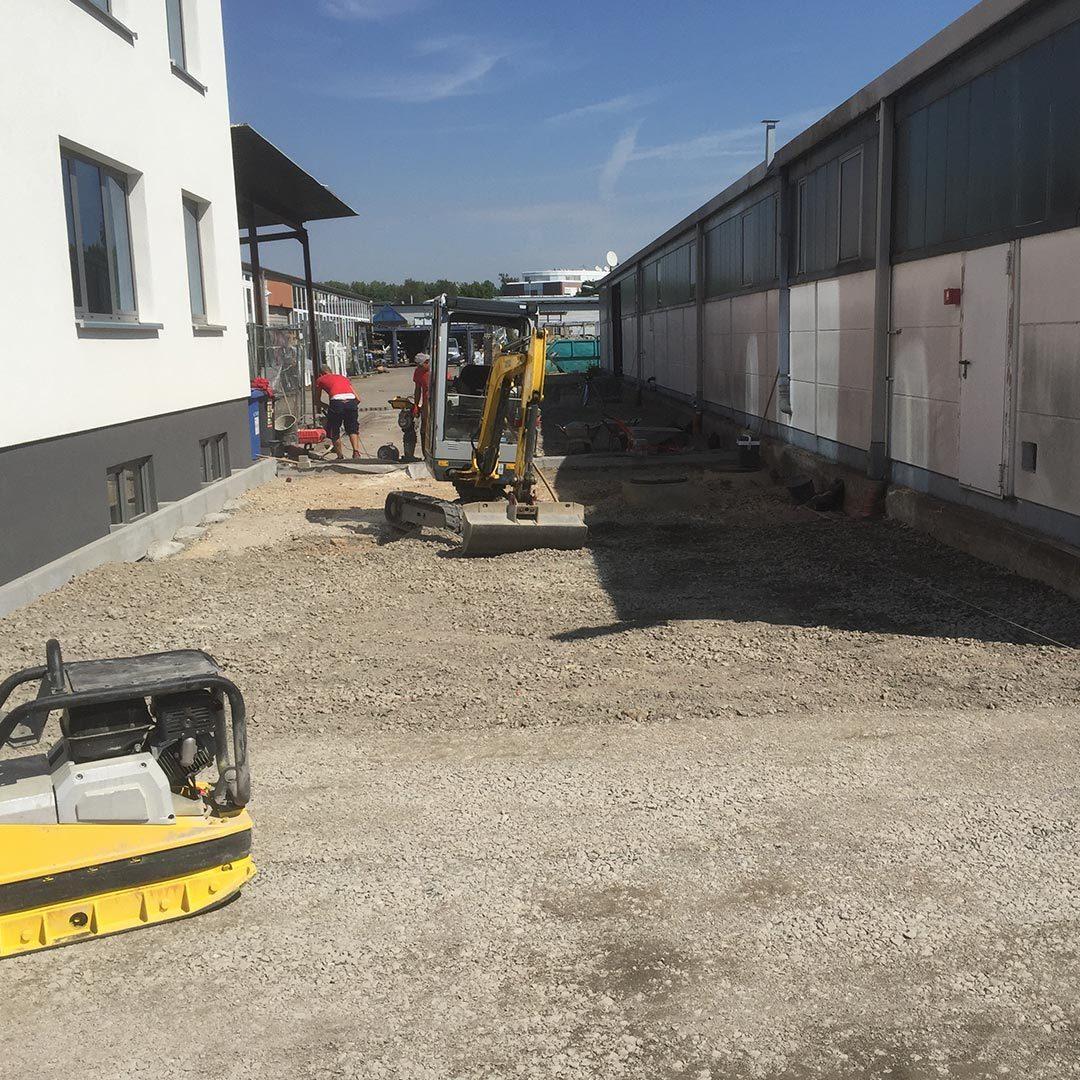 Pflasterarbeiten Handwerker Bruchsal Bauservice Hafizovic